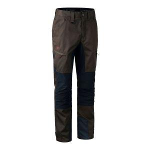 Elastične hlače Deerhunter Rogaland Stretch Trousers with contrast 3771 | Brown Leaf (571)