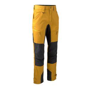 Elastične hlače Deerhunter Rogaland Stretch Trousers with contrast 3771 | Buckthorn (639)