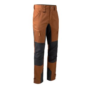 Elastične hlače Deerhunter Rogaland Stretch Trousers with contrast 3771 | Burnt Orange (685)