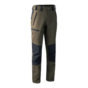 Elastične hlače Deerhunter 3988 Strike Full Stretch Trousers -  381/999 Fallen Leaf/Black | 60