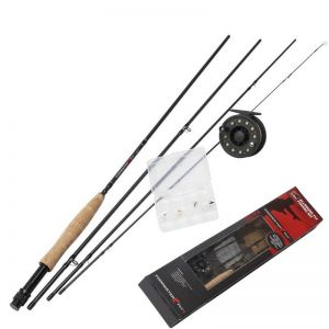 Muharski komplet DAM FORRESTER FLY II FLY FISHING KIT ALLROUND 9FT / #5/6