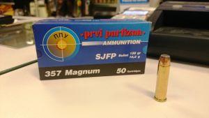 Strelivo   naboji Prvi Partizan PPU 357 MAG SJFP 10,2g (50 kos)