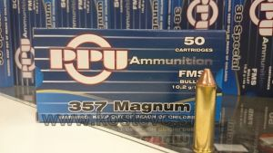 Strelivo   naboji Prvi Partizan PPU 357 MAG FMS 10,2g (50 kos)