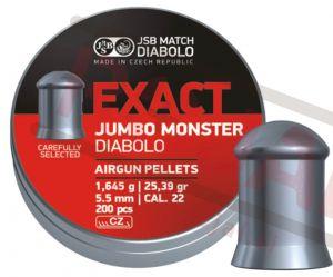 Diabole | metki za zračno orožje JSB - Exact Jumbo Monster 5,52