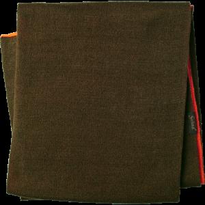 Lovski šal Seeland Ian Reversible scarf - Hi-vis orange/Pine green