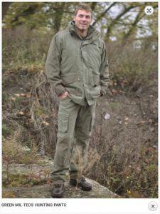 Lovske hlače GREEN MIL-TEC® HUNTING PANTS | XL