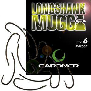 Kraparski trnki GARDNER LONGSHANK MUGGA - 10 kos | velikost: 8