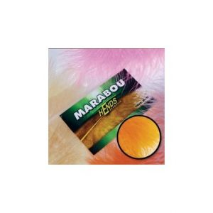 Marabu za vezavo muh HENDS MARABOU - HOT ORANGE FLUO | M-07