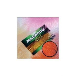 Marabu za vezavo muh HENDS MARABOU - RED ORANGE | M-15