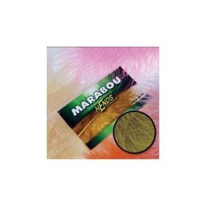Marabu za vezavo muh HENDS MARABOU - GREEN OLIVE   M-25