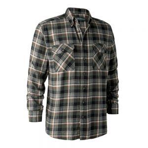 Lovska srajca iz flanele Deerhunter 8184 Marvin Shirt | 38184 Green Check
