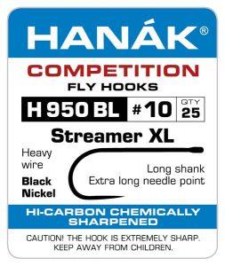 Muharski trnki HANAK 950 BL Streamer XL 25 kos | #8