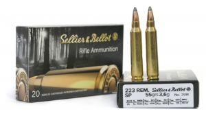 Strelivo   naboji Sellier & Bellot 223 REM SP 3,6g (20)