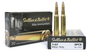 Strelivo   naboji Sellier & Bellot 7x57 SPCE 11.2g