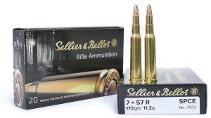 Strelivo   naboji Sellier & Bellot 7x57R SPCE 11.2g