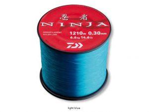 Laks za ribolov DAIWA NINJA X MONO - light blue | 0.20mm 2400m