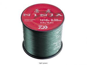 Laks za ribolov DAIWA NINJA X MONO - light green | 0.18mm 3000m