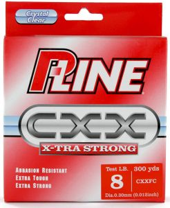Laks P-LINE CXX X-TRA STRONG - Crystal Clear 300 yds | 0.41 mm