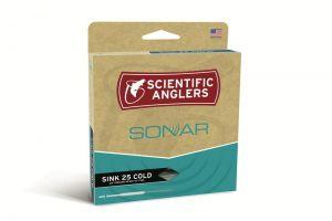 Toneča žnora | muharska vrvica Scientific Anglers Sonar Sink 25 Cold 350 grain | 9-10 wt