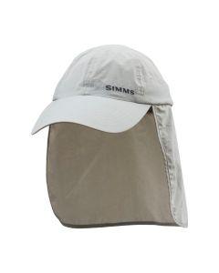 Muharska kapa z zaščito za vrat Simms Superlight Sunshield Cap Sterling