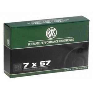Strelivo   naboji RWS 7x57 KS 8.0g   20 kos