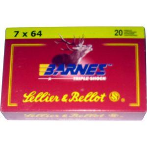 Strelivo   naboji Sellier & Bellot 7x64 TSX 10.4g