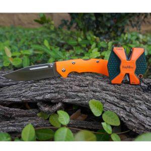Nož in brus Accusharp Schärfer SharpNEasy 2 Step + Messer