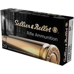 Strelivo | naboji Sellier & Bellot 243 WIN PTS 6.1g (20)