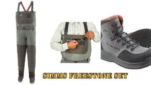 Muharski komplet: SIMMS Freestone (škornji + čevlji)