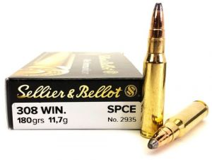 Strelivo   naboji Sellier & Bellot 308 WIN SPCE 11.7g