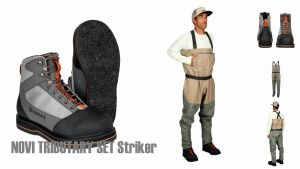 Muharski komplet SIMMS Tributary Striker SET 2021 (škornji + čevlji)