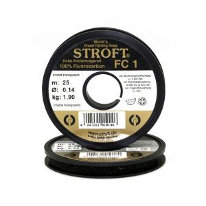 Fluorocarbon laks STROFT FC 1 0.10 mm (25 m)