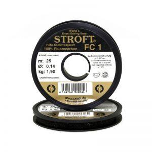 Fluorocarbon laks STROFT FC 1 0,12 mm (25 m)
