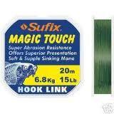 Laks za ribolov Sufix MAGIC TOUCH 20m 15Lb 6.8kg | svetlo zelen