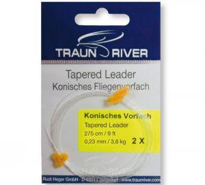 Konična predvrvica TRAUN RIVER konisches Vorfach | 0.25 mm