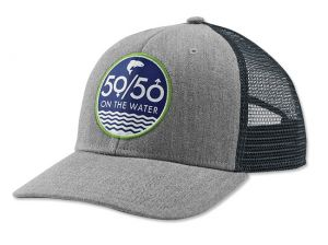 Muharska kapa Orvis Trucker 5050 Hat Heather Grey