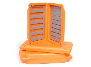 Škatla za muhe Guideline Ultralight Foam Box Orange Nymph